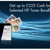 Summer Savings: Get up to £225 Cash back on HP toner this July & August! Thumbnail