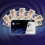 Claim up to £155 cashback on HP Original Toner