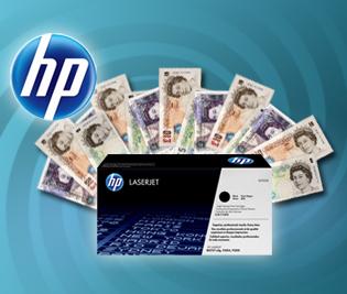 HP cashback toner offer