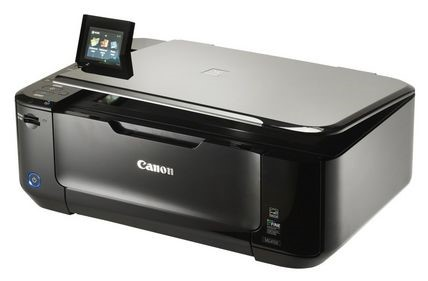 A Canon wireless printer