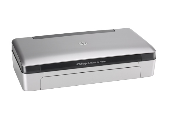 A HP Officejet 100 Portable Printer