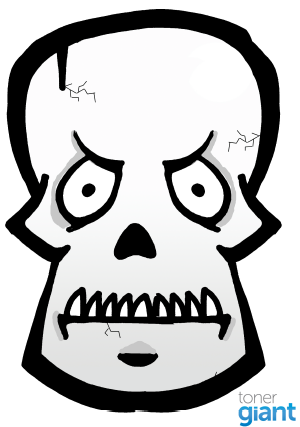 Printable Skull Halloween Mask