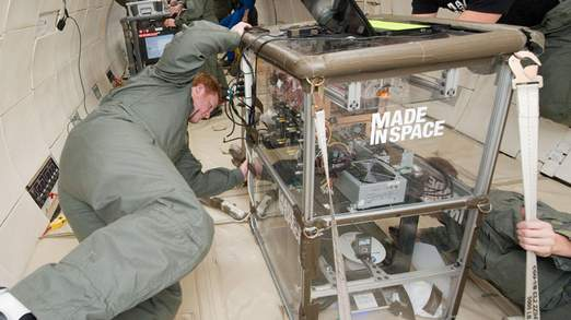 A NASA 3d printer ready for space
