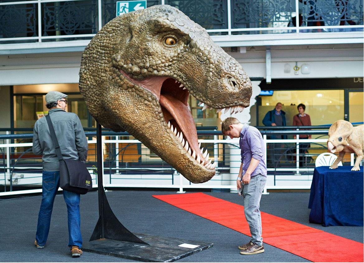 Creaízaurus' Tyrannosaurus-Rex 3D print