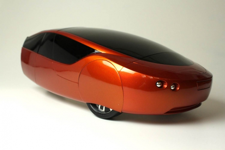Urbee car from the 3D Print Show
