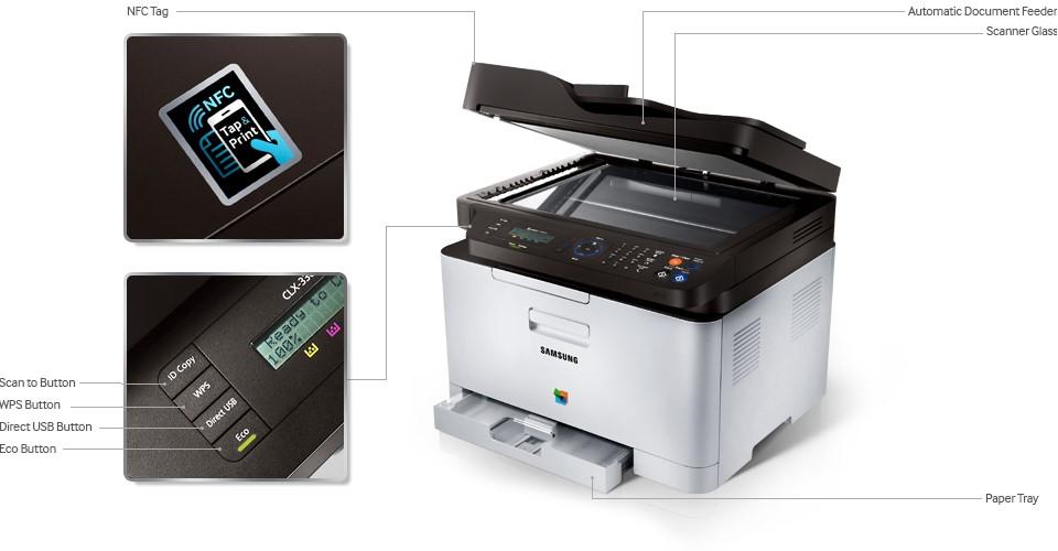 Samsung Xpress C460FW Multi-functional Printer