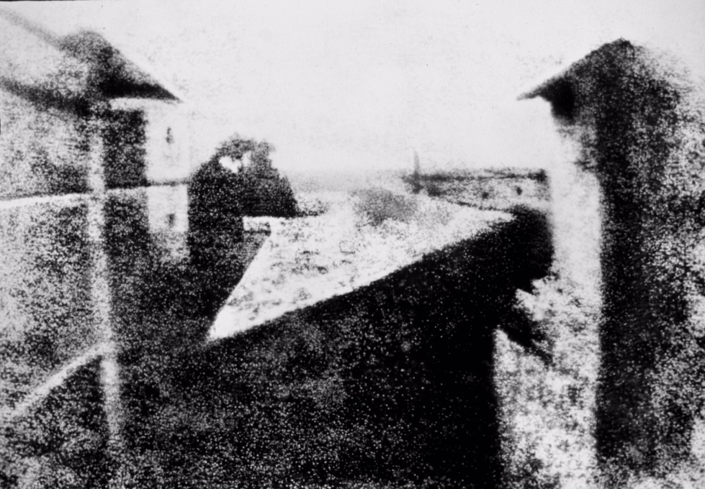 first survivng photograph 1826