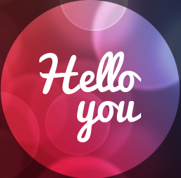 'Hello you' logo from TG site