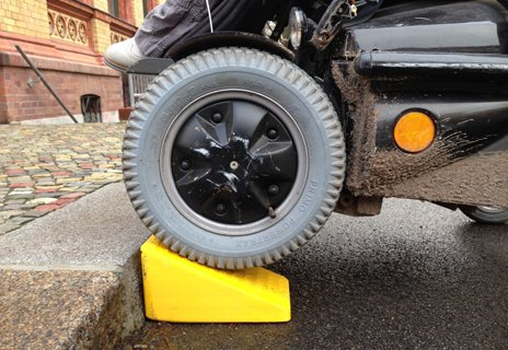 3d printed wheelchair ramp