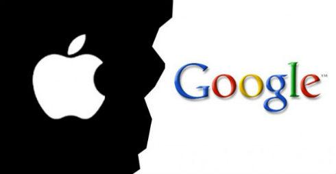Apple/Google logos
