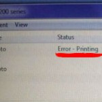 How to Fix 'Error-Printing' Status