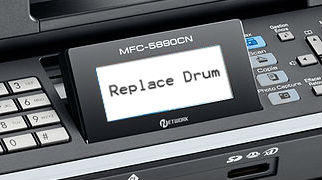"How to Resolve ""Replace Drum"" Message After Changing Brother DR2200 Drum Unit"