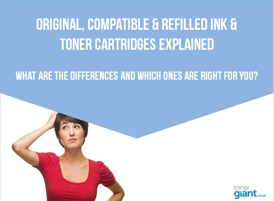 Original, Compatible & Refilled Ink & Toner Cartridges Explained