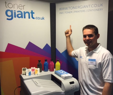 TonerGiant At The Wigan Expo 2014