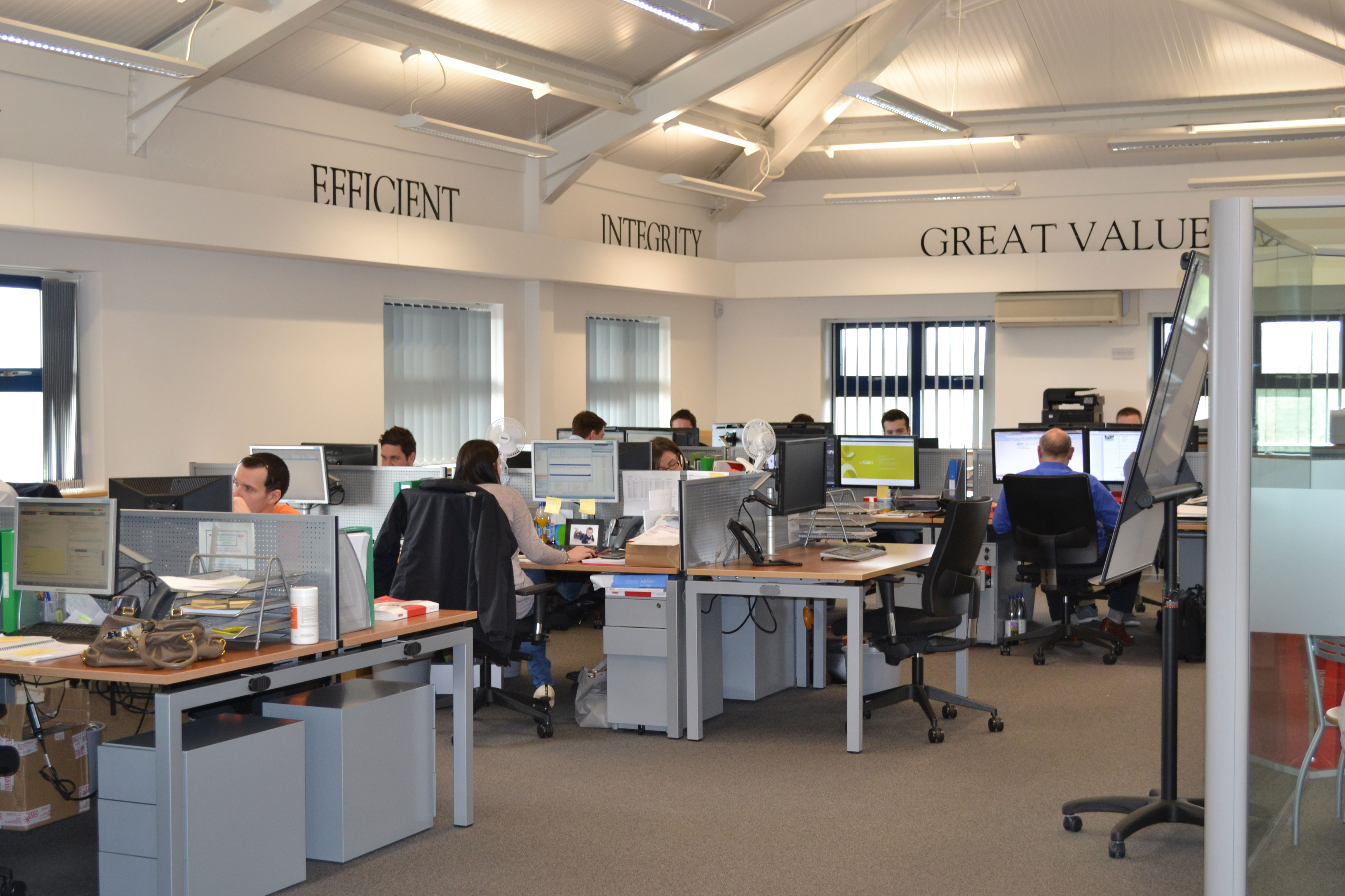 TonerGiant internal office picture