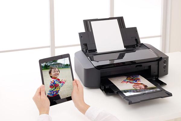 Printing via Tablet
