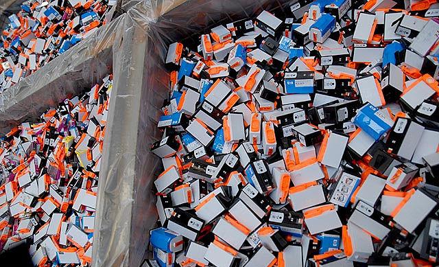 HP Drucker Tintenpatronen Recycling im frŠnkischen Thurnau