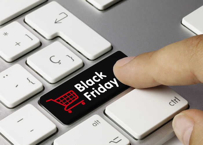 Black Friday Shopping Button