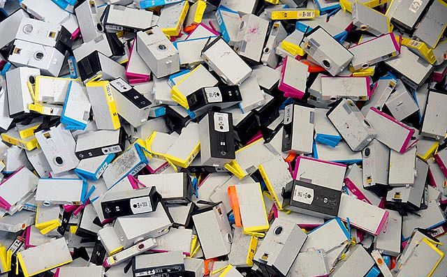 What We Do With Your Empty Print Cartridges