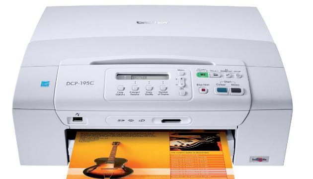Brother DCP-195C Multifunction Inkjet Printer