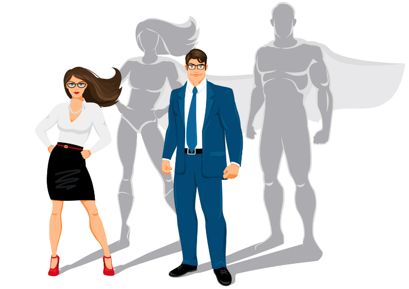 Office Superheroes [Infographic]