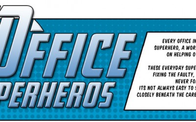 Which Office Superhero Are You? Take Our Quiz To Find Out…