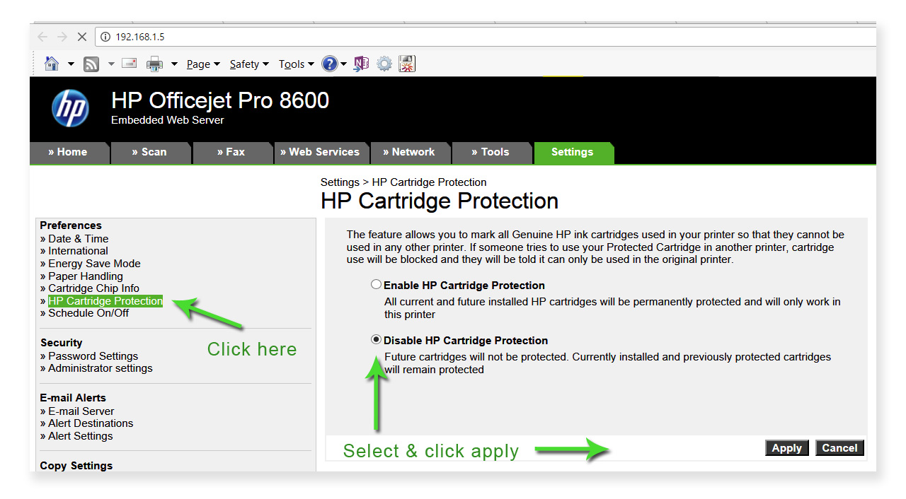 How to fix – HP Cartridges locked to another printer - Toner