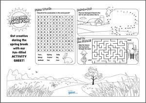 Easter Activity Sheet TonerGiant
