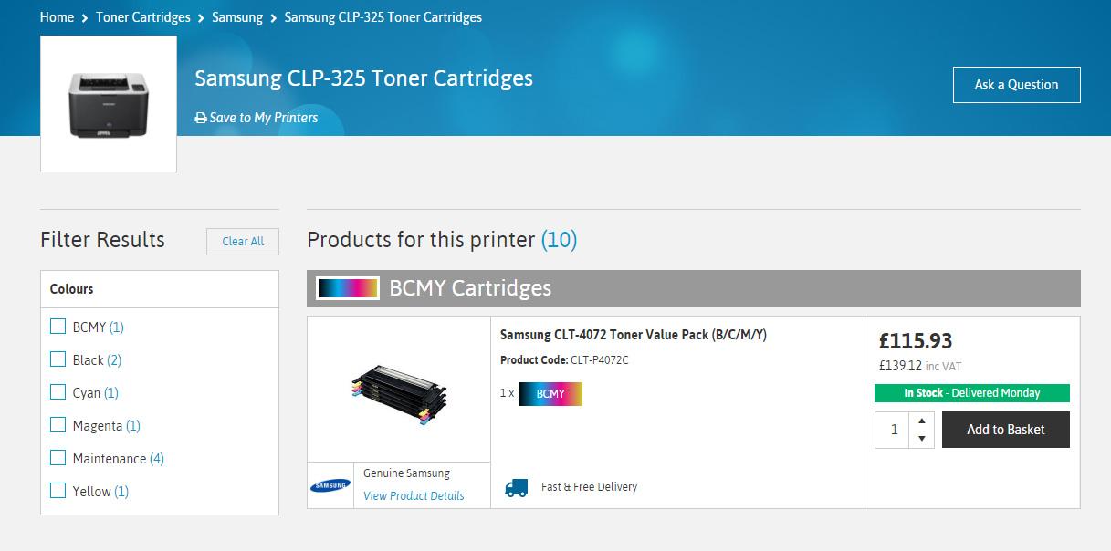 printer model preview