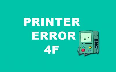 How to Fix Brother Printer Error 4F – Unable to Print