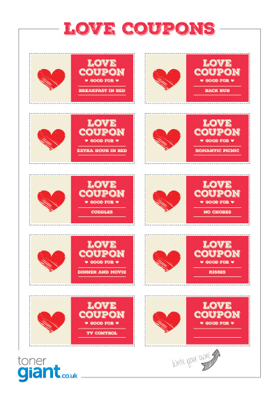 bd580beb04 Valentines Day Love Coupons - Toner Giant