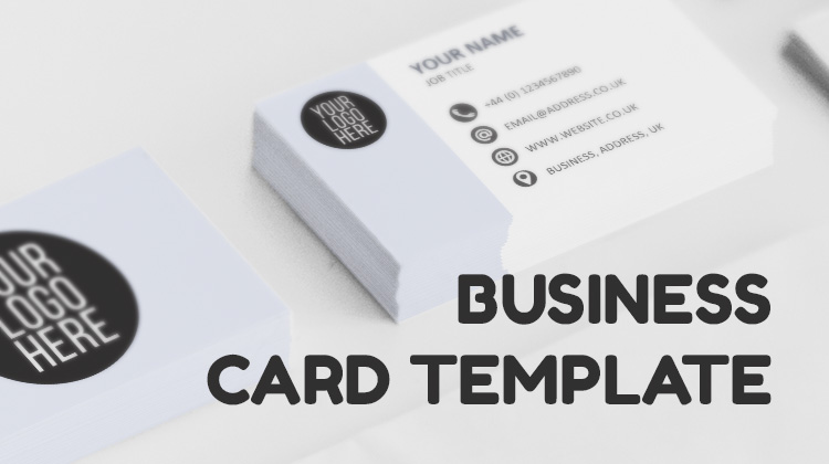 Business card template downloadable resources toner giant pin it on pinterest wajeb Images